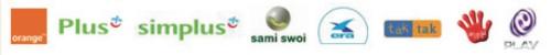 Operatorzy Telefoni Komórkowej GSM dla których Wzmacniacze GSM dzialaja